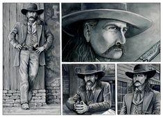 """""""Will Bill at Deadwood. R.Droulez"""