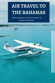 Learn about some lesser known travel options to and around The Bahamas Romantic Honeymoon Destinations, Sea Plane, Bahamas, Famous Places, Air Travel, Archipelago, Boating, Beaches, Caribbean