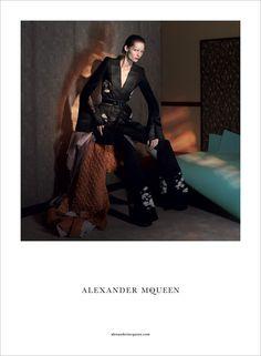 Karolin Wolter for Alexander McQueen SS15