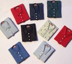 how to: men's folded shirts
