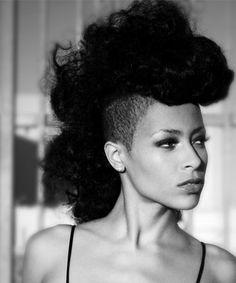 Pleasant African American Hairstyles Half Shaved And African Americans On Hairstyles For Women Draintrainus
