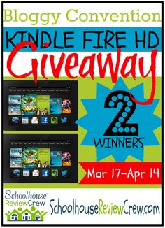 For the next 2 weeks, we'll be sharing about 9 homeschool conventions around the country for 2014. Every day there will be a giveaway from one of the featured speakers from each of these conventions. We're kicking things off today with a #KindleFire Giveaway! Make that 2 Kindle Fire #giveaways!  #homeschool