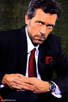 Hugh Laurie. Though I think he needs a subcategory of dapper older good looking gentlemen ;) that's a lot to put on a board title.