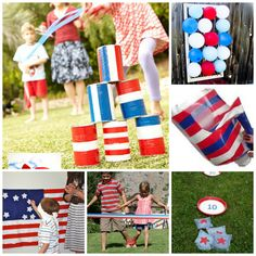 8 FABULOUS 4th July Party Games - bring friends and family together with these fun (and simple) party games.