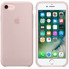 Apple - iPhone 7 Silicone Case, Pink Sand $35, apple.com