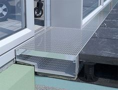 Kastenrinnen für Terrassen, Loggien und Balkone -