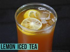 Summer is on peak now, and it's getting hotter and hotter each passing day. So, what's better than summer drinks? I have an amazing lemon iced recipe. This is a lemon iced tea recipe from scratch.See the Full Recipe http://harshitakitchen.blogspot.com/feeds/posts/default?alt=rss