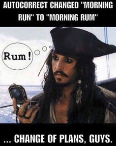 Whoopsie! Dang autocorrect! #haha #lol #funny #silly #loveit #laugh #laughing #great #meme #johnnydepp #pirate #rum #piratesofthecarribean #autocorrect #hilarious #thursday #morning #lmfao #momlife #momboss #girlboss #fitmom #follow #followme by martie4younique