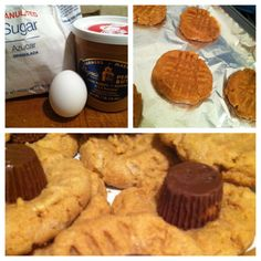 Peanut Butter Cookies ......  Kasey's Kitchen: 3 Ingredient Peanut Butter Cookies