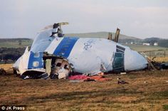 Pan Am Flight 103 hit Lockerbie