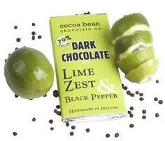 Cocoabean Artisan Chocolates, Co. Artisan Chocolate, Chocolates, Cocoa, Christmas Ideas, Ireland, Irish, Lime, Stuffed Peppers, Food And Drink