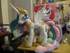 http://www.ravelry.com/patterns/library/princess-celestia-from-my-little-pony crochet pattern