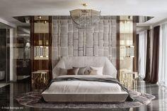 Bedroom Design-Göktürk Villas/İSTANBUL on Behance