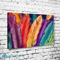 Dekoratif Tüyler Tablo #dekoratif_kanvas_tablo
