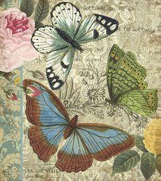 Inspirational Butterflies Digital Art / Jean Plout