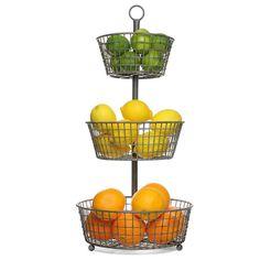 Tiered Wire Basket 82.00
