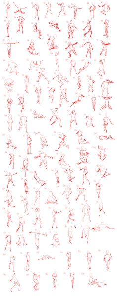 "#Tutorial ""100 Fifteen Second Gestures"" by AOKStudio.deviantart.com on #deviantART"