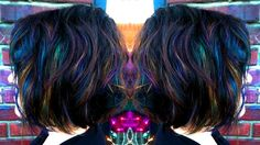 Recreating The Oil Slick | Salon Moxi