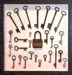 Vintage Lock and Keys Collection