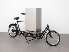 English artist Jonathan Monk, 'stationary metamorphosis within a geometric figure'