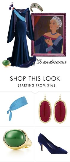 """Grandmama's Royal Gown"" by nightwatchman54 ❤ liked on Polyvore featuring Yves Saint Laurent, Elie Saab, Topshop, Kendra Scott, Elsa Peretti, Carvela and Oscar de la Renta"