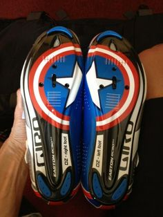 Captain America cleats