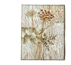 BOTANICAL ART, Textile Art, Quilting Art, Wall Hanging