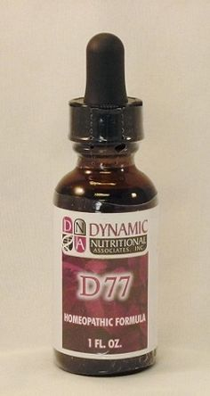 D-77 Homeopathic - Natural Remedy for Allergic reaction to insect bites, poison oak/ivy, sumac, hives. $16.00