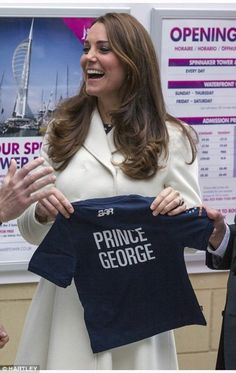 Catherine, Duchess of Cambridge visits the home of Ben Ainslie Racing (BAR) in Portsmouth Old Town on February 12, 2015 in Portsmouth, England