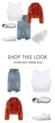 🍂🍂 by anne-maren-weisser-fredriksen on Polyvore featuring Maison Margiela, River Island and Converse White Sneakers, River Island, Casual Outfits, Converse, Ootd, Denim, Clothing, Polyvore, Shopping