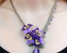New Beginnings Necklace - Needlework Handmade Oya