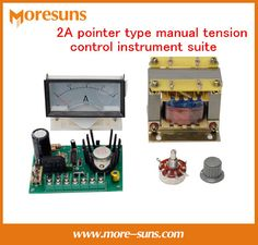 2A pointer manual tension control instrument suite Magnetic powder clutch brake transformer brake torque current meter board #Affiliate