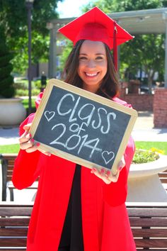 Graduation photo ideas! More