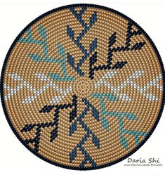 Crochet Bag Tapestry Design 21 New Ideas Tapestry Crochet Patterns, Crochet Mandala Pattern, Crochet Stitches Patterns, Crochet Chart, Bead Crochet, Stitch Patterns, Mochila Crochet, Crochet Baby Beanie, Crochet Pillow