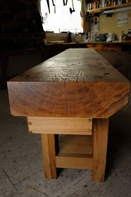 Benchcrafted: The French Oak Plate 11 Bench: Finished