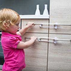 Schuifsluitingen als kinderbeveiliging, ideaal voor kasten en lades Slot, Products, Gadget