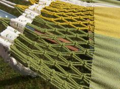 Close up of Dunes Hammock Lime Large (double) : Quality Hammocks and Hanging Chairs, Marañon World of Hammocks Hanging Chairs, Hammocks, Dune, Bohemian Rug, Collection, Home Decor, Decoration Home, Hammock Chair, Room Decor