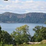 Scenic view of the Hudson- Rockwood Hall State Park - Sleepy Hollow