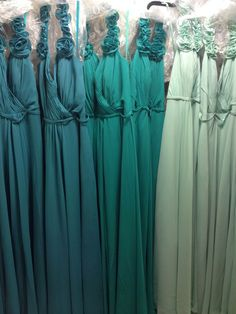 Shades of Teal Bride