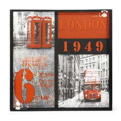 Tapis bus imp riale union jack buses union jack and for Decoration murale wayfair