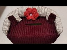 Crochet Baby Dress Pattern, Crochet Motif, Crochet Designs, Tissue Box Covers, Tissue Boxes, Crochet Purses, Crochet Hats, Crochet Towel Holders, Primitive Doll Patterns