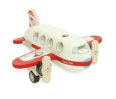 A four seat wooden toy plane with a pilot, 3 passengers and a lift off roof for easy play access. Propellers that can be spun and removable luggage. Wooden Airplane, Retro Scooter, Wood Plane, Wooden Numbers, Baby Store, Wood Toys, Hand Spinning, Design, Xmas