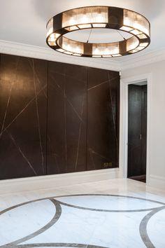 Rupert Bevan - Interior Finishes - Cracked Gesso WallPanels