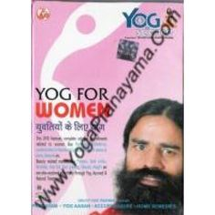 Baba Ramdev Yoga DVD for Women, This DVD features complete Solution for Ailments related to women like Hormonal Imbalance, Uncertainties in Menstrual cycle, Disorders of uterus & ovary, Anemia etc.
