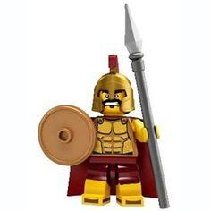 LEGO Spartan Minifigure