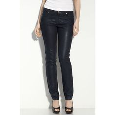 """David Kahn Coated Metallic Skinny Stretch Jeans Brand new with tag! Fabulous and edgy! Inseam:28"""" David Kahn Jeans Ankle & Cropped"""