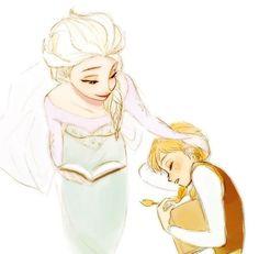 Cute Frozen, Frozen Movie, Frozen Elsa And Anna, Disney Frozen, Frozen Anime, Frozen Stuff, Elsa Anna, Disney Animation, Animation Film