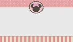 Dicas pra Mamãe: Kit gratuito para imprimir da Minnie cor de rosa