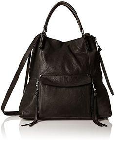 Kooba Handbags Everette Satchel Shoulder Bag, Black, One Size ** For more information, visit image link.