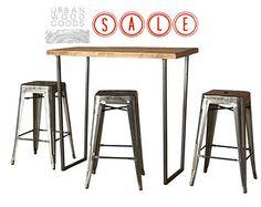 Brooklyn Bar Height Table